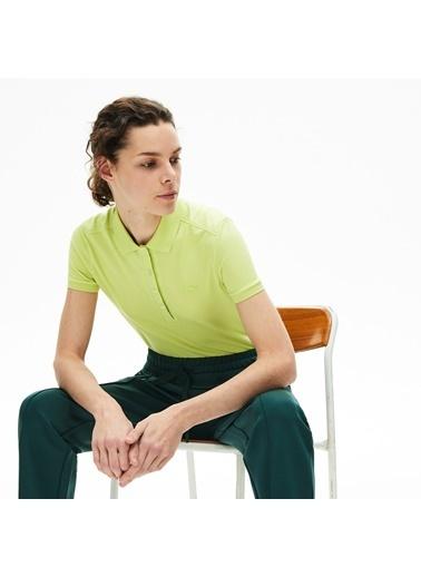Lacoste Kadın  Tişört PF5462.Z0C Sarı